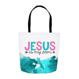 Jesus Is My Jam Tote Bag