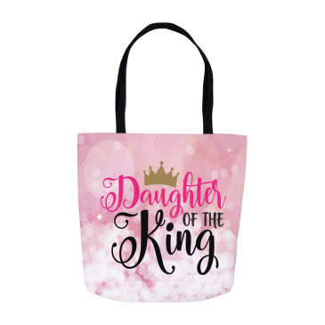 Daughter Of The King Tote Bag