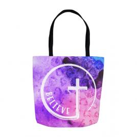 Believe Cross Tote Bag
