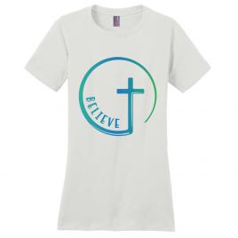 Believe Cross Women's T-Shirt