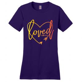 Loved Heart Women's T-Shirt
