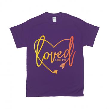 Loved Heart Unisex T-Shirt