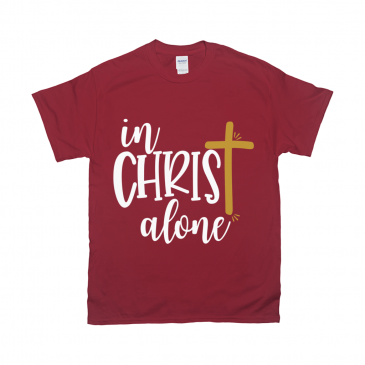 In Christ Alone Unisex T-Shirt