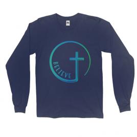 Believe Cross Unisex Long Sleeve Tee