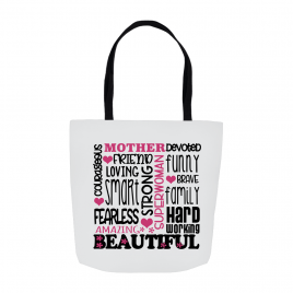 Mother Devoted Tote Bag